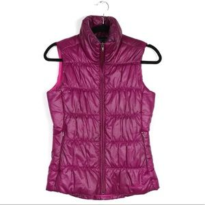 Patagonia XS Raspberry Pink Puffer Vest
